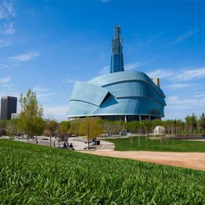 Canadian Museum of Human Rights, Winnipeg, Exterior 1